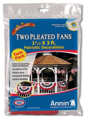 2PK Patriotic Pleat Fan