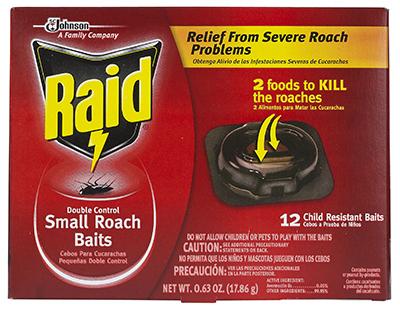 Raid12PK Roach/Egg Stop