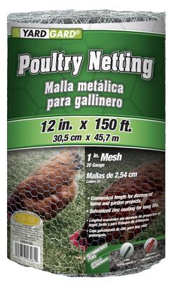 """12""""x150 1"""" Poultry Net"""