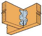SIMPSON STRONG TIE A34 A34 Framing Angle, Used To Reinforce Right Angle Connections, Designed
