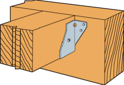 4x4 DBL Shear Hanger