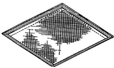 8x9-1/2 ALU Filter