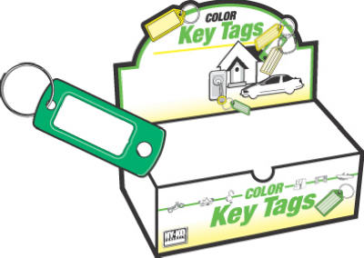 200PK ID Key Tag/Ring