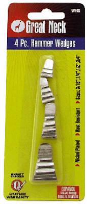 4PK Hammer & Axe Wedge