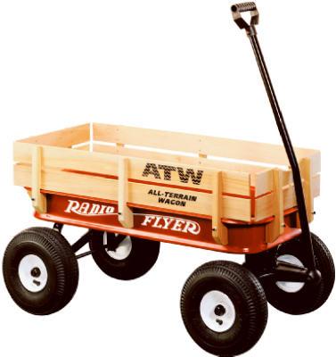 RED All Terrain Wagon