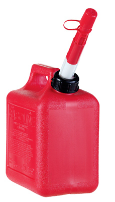 1+GAL RED Poly Gas Can