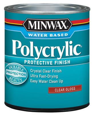 QT CLR GLS Polycrylic