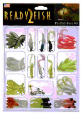 72PC Panfish Lure Kit
