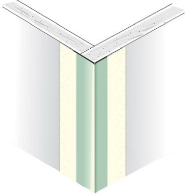 Us Gypsum 8 Sheetrock Paper Faced Metal Outside Corner