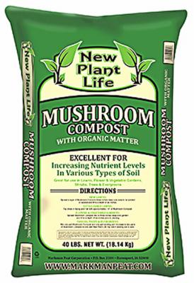 40LB Mushroom Compost - Woods Hardware