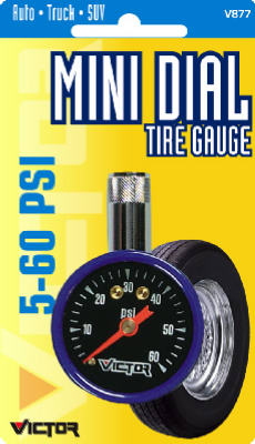5-50PSI Mini Tire Gauge