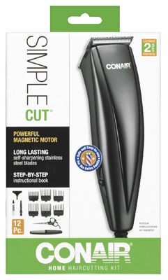 12PC Hair Clipper Set