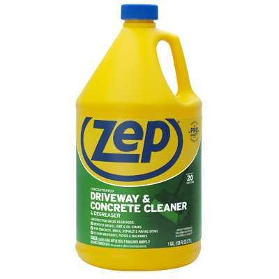 Zep inc gallon zep commercial driveway tv885514 for Driveway cleaning chemicals