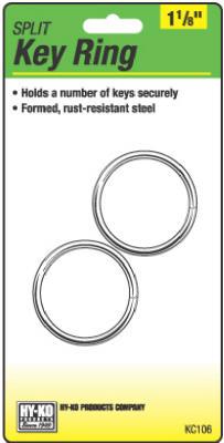 "2PK1-1/8""Split Key Ring"