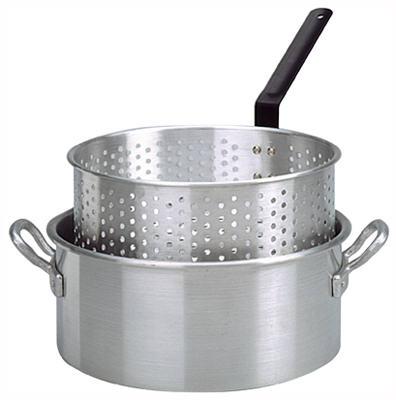 10.5QT ALU Fryer Pot