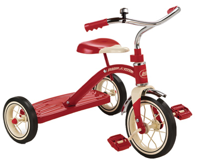 "10"" RED Class Tricycle"