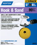 Norton Abrasives/St Gobain 49218 25-Pack 5-Inch 220-Grit Hook & Loop Sanding Disc