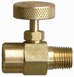 Flame Engineering V-334 1/4-Inch Standard Pipe Thread Needle Valve