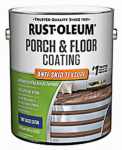 Rust-Oleum 246745 Gallon Satin Porch & Floor Urethane Finish, Anti-Skid Texture Tint Base