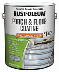 Rust-Oleum 246744 Gallon Satin Porch & Floor Urethane Finish, Anti-Skid Texture Dove Gray