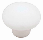Brainerd Mfg Co/Liberty Hdw P95713H-W-C7 1-3/8-In. White Ceramic Round Cabinet Knob