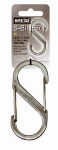 Nite Ize SB5-03-11 S-Biner Carabineer Clip, #5, Stainless Steel