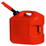 Midwest Can 6600 6-Gallon Plastic Gasoline Can
