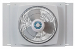 Lasko Products 2155A 16-Inch 3-Speed Reversible Window Fan