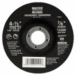 Disston 104262 Arbor Metal Depressed Center Cutting Wheel, 4.5 x 0.125 x 7/8-In.