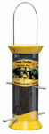 Droll Yankees CJTHM8Y Nyjer Bird Feeder, Yellow, 2.5-In.