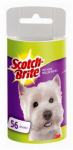 3M 839RF-70 Scotch 70-Count Pet Hair Removal Roller Refill