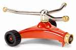Dramm 10-15050 ColorStorm Whirling Sprinkler, Metal, 3-Arm, Assorted Colors