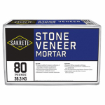 Sakrete Of North America 65303105 Stone Veneer Mortar, 80-Lbs.