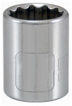 Apex Tool Group-Asia 105049 3/8-Inch Drive 7/16-Inch 12-Point Socket