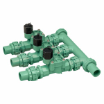 Orbit Irrigation Products 57253 Underground Sprinkler Manifold, 3-Valve