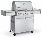Weber 2740301 Summit S-470 Stainless Steel Propane Gas Grill