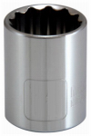 Apex Tool Group-Asia 105452 1/2-Inch Drive 1-Inch 12-Point Socket