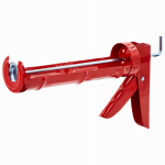 Newborn Bros & DC012 Non-Drip Caulking Gun, Smooth Rod, 3:1 Thrust Ratio