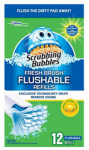 S C Johnson Wax 71102 12-Count Citrus Fresh Flushable Pad Refill
