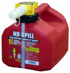 No Spill 1415 Gas Can, Carbon or Carbuerator Compliant, 1-1/4-Gal.