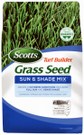 Scotts Lawns 18249 Turf Builder Sun & Shade Grass Seed, 20-Lbs.