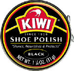 Kiwi 1-01-011 1-1/8OZ Black Shoe Paste