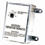 Air Vent 58033 Thermostat for Attic Fans, Single-Speed