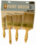 True Value Applicators 85130TV 4-Piece Deluxe Varnish/Sash Paint Brush Set