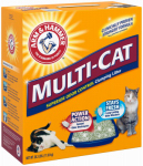 Church & Dwight 2303 Multi-Cat Strength Clumping Litter, 26.3 Lbs.