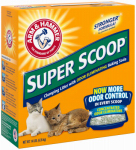 Church & Dwight 02140 Super Scoop Clumping Litter, 14-Lbs.