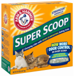 Church & Dwight 02200 Super Scoop Clumping Litter, 20-Lbs.