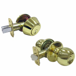 Ingersoll Rand-Fu Hsing T3730 TG Polished Brass Ball Passage Lockset