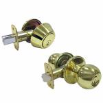 Taiwan Fu Hsing Industrial T3730 Brass Passage Lockset
