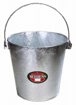 Behrens 1522 22-Qt. Behrens Hot-Dipped Steel Stable Pail